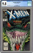 Uncanny X-Men #232 CGC 9.8 1988 3797387006