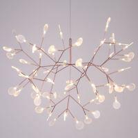 Modern Leaves Firefly LED Chandelier Plant Pendant Light Ceiling Lamp Lighting