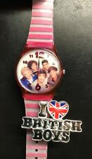 I love British boys 2 finger ring adjustable. And 1 Direction Watch