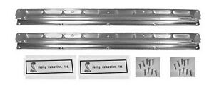 NEW 1965-1968 Ford Mustang COUPE Fastback SCUFF PLATES Shelby GT350 GT500