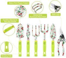 Gardening Tool Set - 13 PCS Heavy Duty Aluminum Gardening Tools Kit Floral