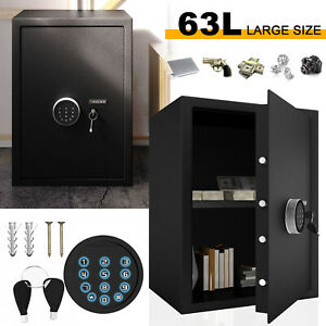 Large Electronic Digital Safe High Security Secure Home Office Money Safety Box