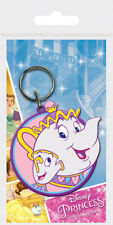 Beauty and the Beast (Mrs. Potts and Chip) Rubber Keychain
