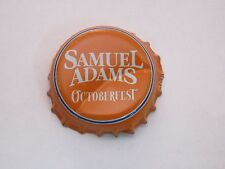 Beer Bottle Crown Cap~ Samuel Adams Octoberfest, Boston Brewing Co ~ Breweriana