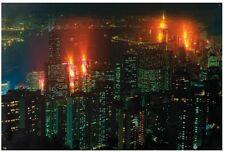 LED Bild Hong Kong mit 12 Led´s Hammer Design inkl. Batterien