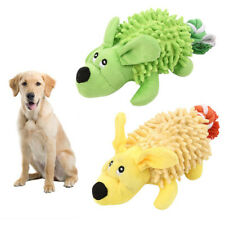 FP- HK- JW_ AU_ Pet Dog Puppy BB Vocal Sound Soft Bite Plush Toy Non-toxic Molar
