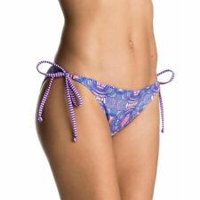 Roxy Bikini Bottoms Mix Caleo Tie Side Multicolour M, L UK10 12 BNIB Swim Beach