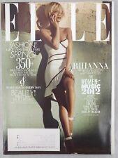 Rihanna Elle Magazine May 2012 Jessie J Shakira Music Issue Hillary Clinton