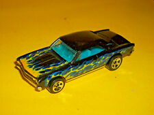 ## HOTWHEELS BLACK FLAMED 1967 '67 CHEVROLET CHEVELLE SS 396 MADE IN MALAYSIA