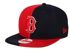 "RETRO New Era MLB Boston Red Sox ""Double Split"" Snapback Cap, One Size Fits All"