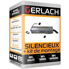 Pour Peugeot 206 1.4 8V 1.6 16V aussi CC 1.6 16V silencieux arriere 2741