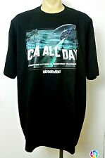 CALI HILLS Streetwise Clothing Men's T Shirt Black Sz M Hollywood California New