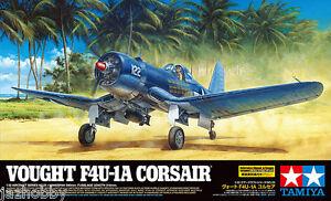 Tamiya 60325 1/32 U.S Aircraft Model Kit Vought F4U-1A Corsair Mk II w/PE Parts