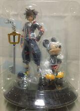 Kingdom Hearts 3 : Sora & Mickey figure statue  Bandai 2018