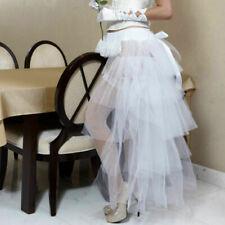 Burlesque Steampunk Tulle Bustle Women Tutu Skirt Party Carnival Fancy Dress