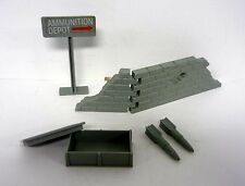 GI JOE MISSILE DEFENSE UNIT Vintage Mail In Variant Playset NEAR COMPLETE 1984