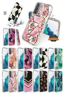For Samsung Galaxy A32 5G Hybrid Design Fashion TPU Hard Armor Slim Case Cover