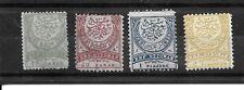 Turkey Stamps- Scott # 67-70/A7-Mint/H-1884-1886-OG