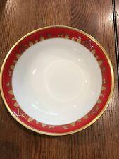 """Christian Dior Joyeux Noel Vegetable Bowl 9 1/4"""" Rare"""