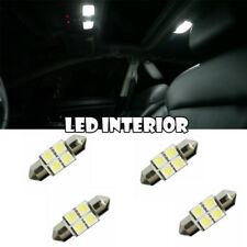28-31mm Festoon LED Bulb 4-smd Interior Xenon Dome  Map DE3021 DE3022 DE3175 x4