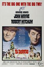 El Dorado John Wayne Robert Mitchum #11 movie poster
