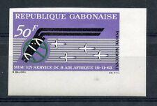 TIMBRE DU GABON POSTE AERIENNE N° 17 ** COMPAGNIE AIR FRANCE  non dentelé