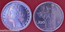 C51 ITALY ITALIA 100 LIRE MINERVA 2° TIPO 1990 CIFRE 99 APERTE KM 96.2 FDC UNC