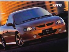 2001 HOLDEN VX COMMODORE UTE 22 Page Prestige Brochure