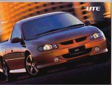 2001 HOLDEN VX COMMODORE UTE 22 Page Prestige Brochure