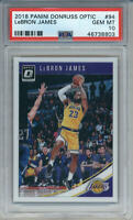 2018-19 Donruss Optic LeBron James #94 PSA 10 (8803) 1st LAKERS CARD