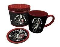 Nightmare Before Christmas Mug and Coaster gift tin set new Official
