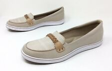 Women's GRASSHOPPERS Beige Slip On Memory Foam Casual Walking Athletic Shoes 11