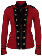 Ralph Lauren Denim Supply Embroidered Military Officer Jacket- Women- XL