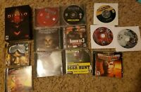 *Lot of 12* PC computer games: Diablo, Starcraft, Battlefield 1942, et, see list