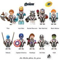 Lot de 10 figurines les Avengers type Lego état neuf envoi lettre suivi!