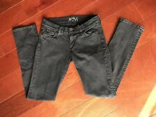 "Mavi Women's Faded Black Wash ""Lindy"" Low Rise, Slim Jeans Size 27 X 32"