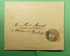 DR WHO 1902 AUSTRIA WEINBERG STATIONERY WRAPPER TO GERMANY  f52877