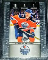 2019-20 Connor McDavid UD Tim Hortons Game Day Action Edmonton Oilers