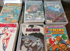 Huge 25 Comic Random Lot Bronze to Modern. Marvel, DC, Indy Mixed form 1970s-Now