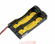A Li-ion 18650 Battery Holder Case 1S2P w/3.6V 3.7V PCM Inside output:3-4.2V