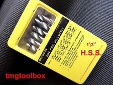 1/2 CHUCK, DAVIDSON 29 PC H.S.S. DRILL BIT SET, INDUSTRIAL HIGH SPEED STEEL