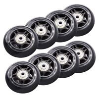 8 Pack Inline Skate Wheels Beginner's Roller Blades Replacement Wheel with  L2A5