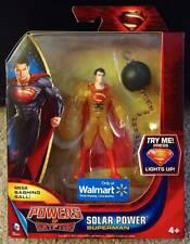 DC Walmart Exclusivo Solar Figura De Superman Direct Mattel poderes de criptón