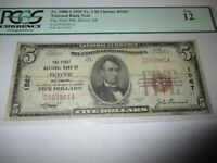 $5 1929 Dover Delaware DE National Currency Bank Note Bill Ch. #1567 Fine PCGS