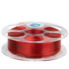 Petg - Filamento 1.75mm 1 kg Rojo Transparente Azurefilm Mascota Impresora 3D