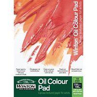 "Winsor & Newton Winton 230gsm Oil Painting Paper Pad 14 x 10"""