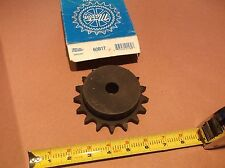"Martin 60B17 Sprocket 17 tooth 3/4"" Plain Bore"