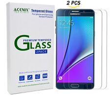 ACENIX [ Pack 2 ] Protection Écran En Verre Trempé pour Samsung Galaxy Note 5
