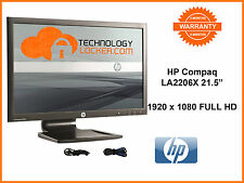 HP Compaq LA2206x 21.5-inch LED Backlit LCD Monitor + VGA & Power Cable