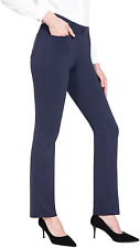 New listing BALEAF Women's Dress Yoga Pants Straight Leg Pull-On Stretch Work Casual with S